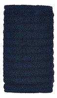 Zone Handtuch Prime 100 x 50 cm Baumwolle 600g blau