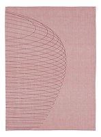 Zone Geschirrtuch Dry Art Circles 70 x 50 cm hellrot
