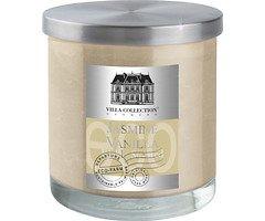 Villa Collection Duftkerze creme Jasmin Vanille, im Glas mit Metalldeckel, 9 x 10cm