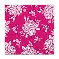 Villa Collection Servietten 20 Stück Rosen pink 33 x 33cm - Thumbnail 1
