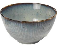 Broste Müslischale Nordic Sea 15 x 8 cm Keramik grau