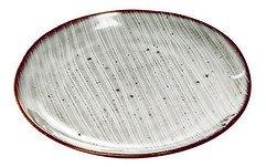 Broste Speiseteller Nordic Sea 26 cm Keramik grau