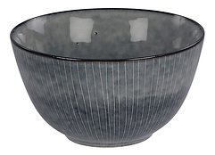 Broste Schüssel Nordic Sea 20 x 11 cm Keramik grau