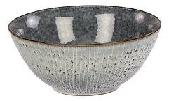 Broste Schüssel Nordic Sea 25 x 11 cm Keramik grau