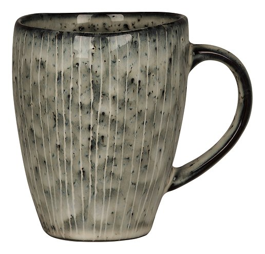 Broste Henkelbecher Nordic Sea 250 ml Keramik grau