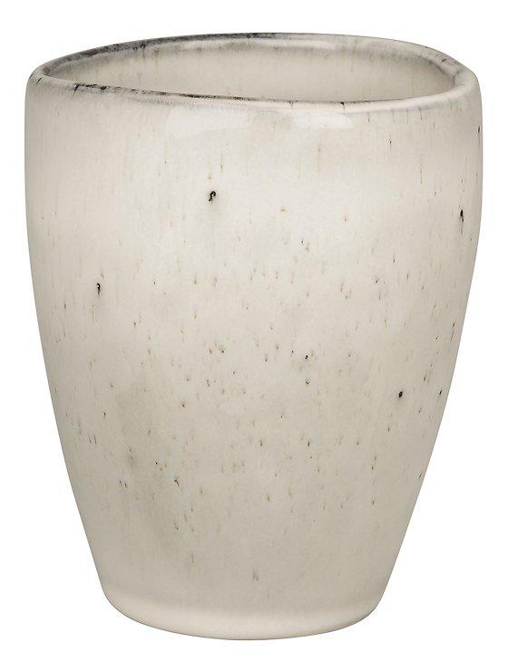 Broste Becher Nordic Sand 250 ml Keramik sand - Pic 1