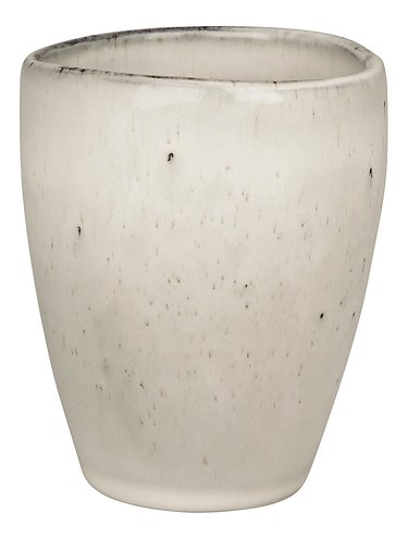 Broste Becher Nordic Sand 250 ml Keramik sand