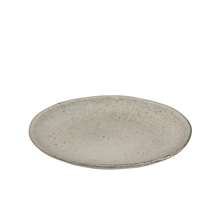 Broste Dessertteller Nordic Sand 20 cm Keramik sand - Pic 1