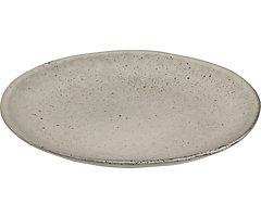 Broste Dessertteller Nordic Sand 20 cm Keramik sand