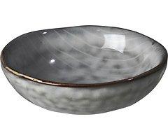 Broste Dipschale Nordic Sea 7 cm Keramik grau