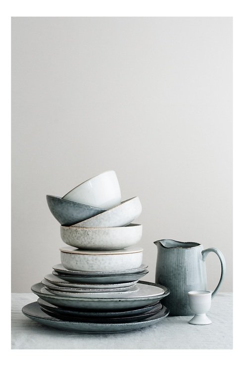 Broste Servierplatte Nordic Sand 13,6 x 22 cm Keramik sand - Pic 2