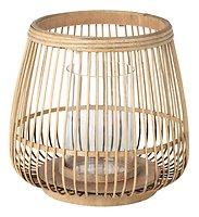 Broste Windlicht Cait S Bambus natur 21 x 22 cm