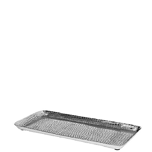 Broste Kerzenplatte 33cm Aluminium silber