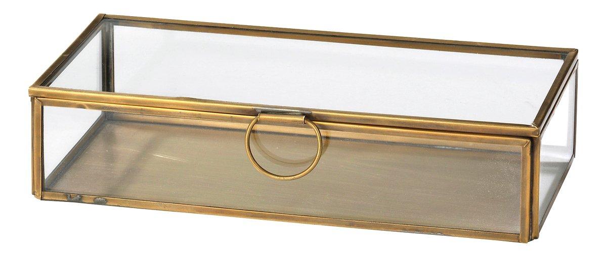 Broste Aufbewahrungsbox Janni Messing 10 x 21,5 cm - Pic 1