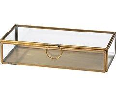 Broste Aufbewahrungsbox Janni Messing 10 x 21,5 cm