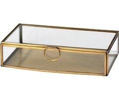 Broste Aufbewahrungsbox Janni Messing 13 x 21,5 cm