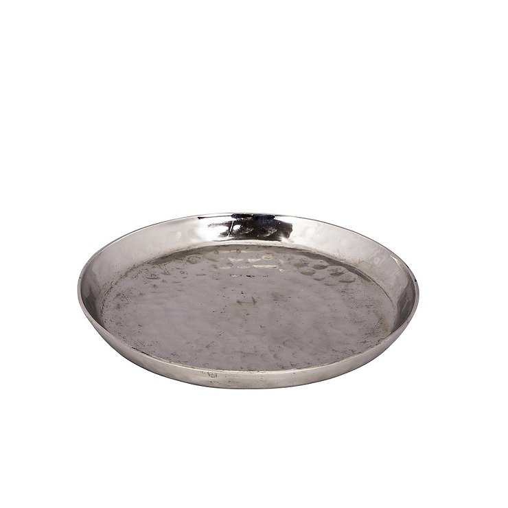 Broste Kerzenschale Kyler Aluminium 13cm - Pic 1