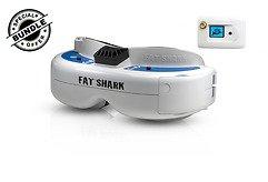 Fatshark Dominator V3 FPV Videobrille mit FatShark 5.8GHz OLED RX Modul GRATIS