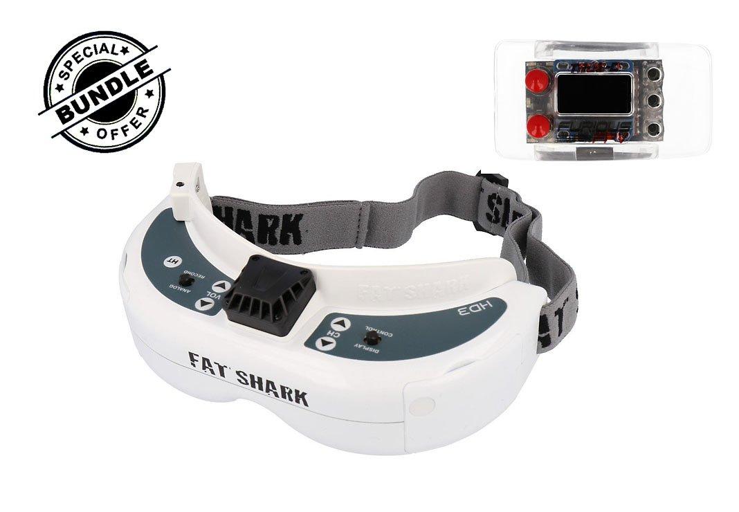 Fatshark Dominator HD3 Core + Furious FPV True-D Diversity - Pic 1