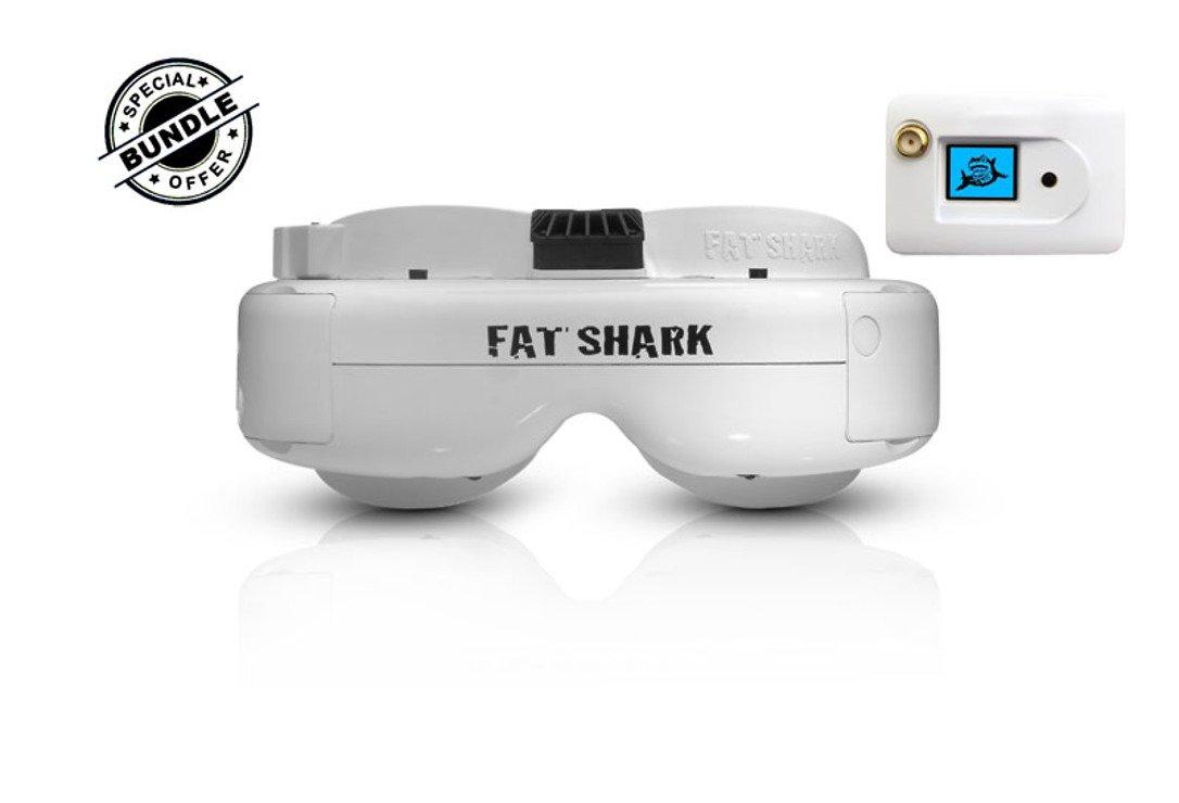 Fatshark Dominator HD 3 Core FPV Videobrille mit FatShark 5.8GHz OLED RX Modul GRATIS - Pic 1