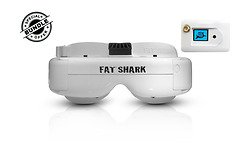 Fatshark Dominator HD 3 Core FPV Videobrille mit FatShark 5.8GHz OLED RX Modul GRATIS