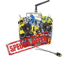 FrSky Taranis X9D Plus SPECIAL EDITION Rock Monster mit R-XSR Empfänger
