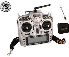 FrSky Taranis X9D Plus und Soft Bag mit R-XSR Empfänger