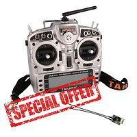 FrSky Taranis X9D Plus und Soft Bag mit RXSR Empfänger GRATIS