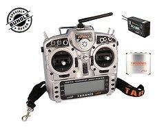 FrSky Taranis X9D Plus + R-X8R Empfänger und Alu case