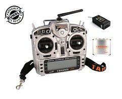 FrSky Taranis X9D Plus + S6R Empfänger und Alu case