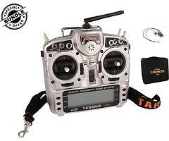 FrSky Taranis X9D Plus + XM Plus Mini Empfänger und Soft Case EVA