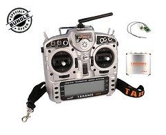 FrSky Taranis X9D Plus + XM Plus Mini Empfänger und Alu case