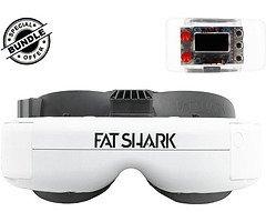 Fat Shark Dominator HDO + Furious FPV True-D Diversity