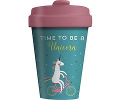 Chic.Mic BambooCUP ToGo Becher Time for Unicorns