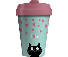 Chic.Mic BambooCUP ToGo Becher Kitty Love