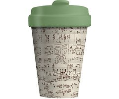 Chic.Mic BambooCUP ToGo Becher Music Notes
