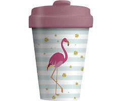 Chic.Mic BambooCUP ToGo Becher Flamingo