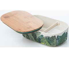 Chic.Mic Lunchbox Deluxe-Exotic Leaves