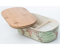 Chic.Mic Lunchbox Deluxe-World Map