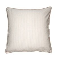 Cozy Living Dekokissen Baumwolle gestreift Pearl 60 x 60cm