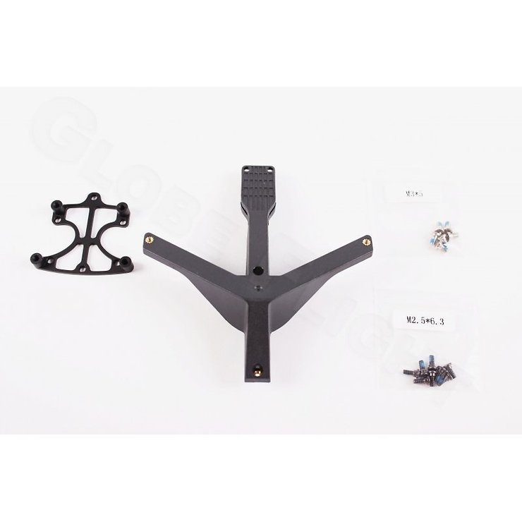 DJI ZH3-2D/3D Part 50 Mounting Adapter für Flame Wheel 550 - Pic 3