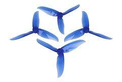 DAL T5046 Cyclone 3-Blatt Propeller Crystal Blau 2xCW 2xCCW