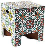 Dutch Design Brand Papphocker - Tiles