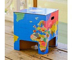 Dutch Design Brand Papphocker - World Cube