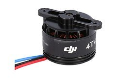 DJI S900 Part 21 4114 Motor with black Prop cover