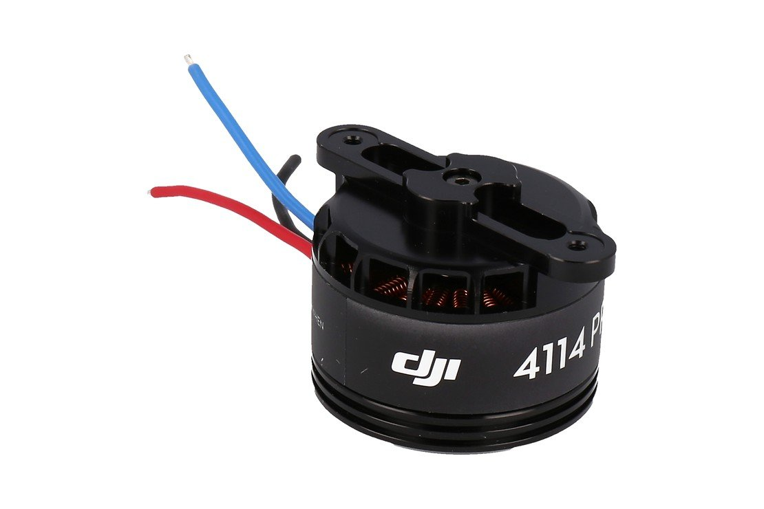 DJI S1000 Part 55 Premium 4114 Motor with red Prop cover - Pic 1