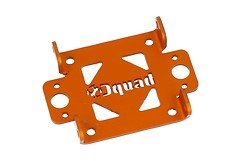 Dquad XT top plate Aluminium Eloxiert