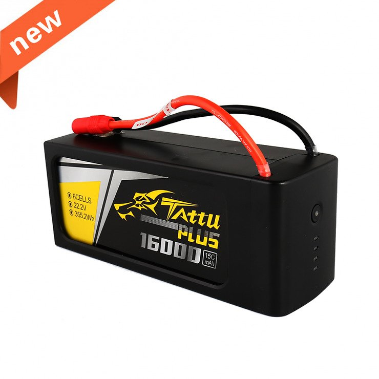Tattu Batterie Lipo Akku 16000mAh 6S1P 22,2V 15C - Pic 1