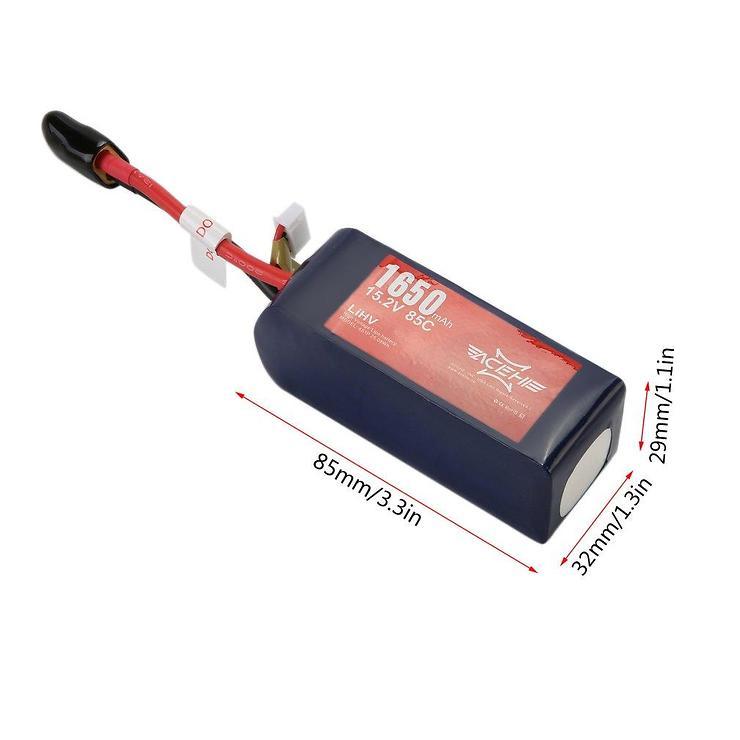Acehe Batterie Lipo Akku 1650mAh 4S 100C - Pic 3