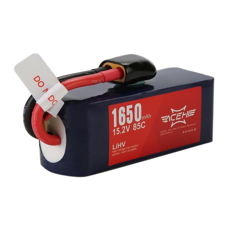 Acehe Batterie Lipo Akku 1650mAh 4S 100C - Pic 1